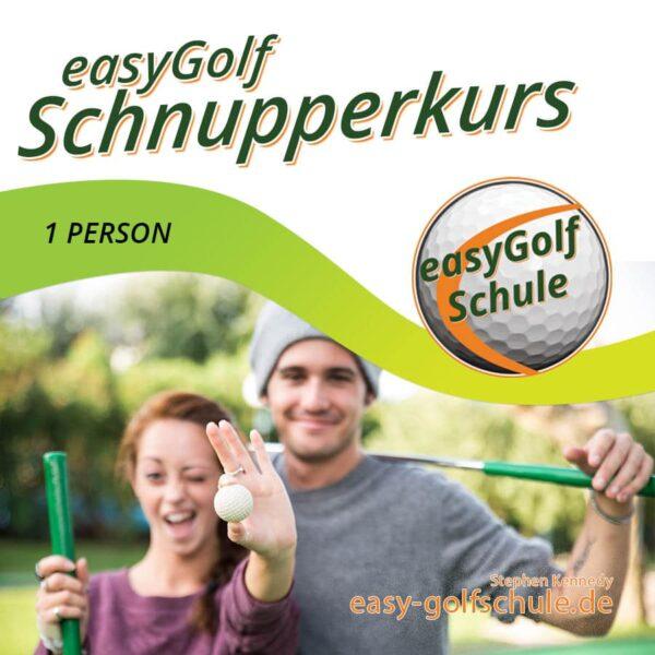 Easy Golf Start mit dem Golf Schnupperkurs