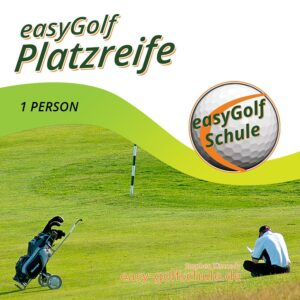 Easy Golf lernen Platzreife 1 Person