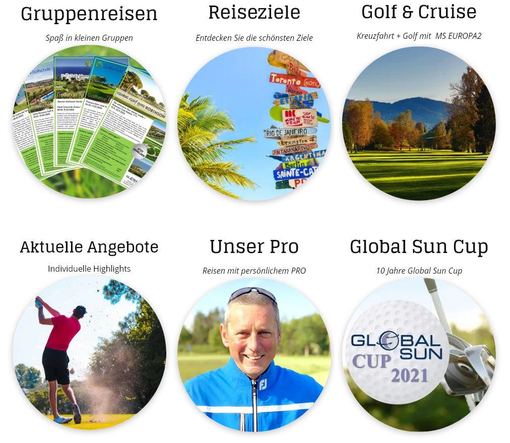 Easy Golfreisen mit Easy Golf und Global Golf Schleswig