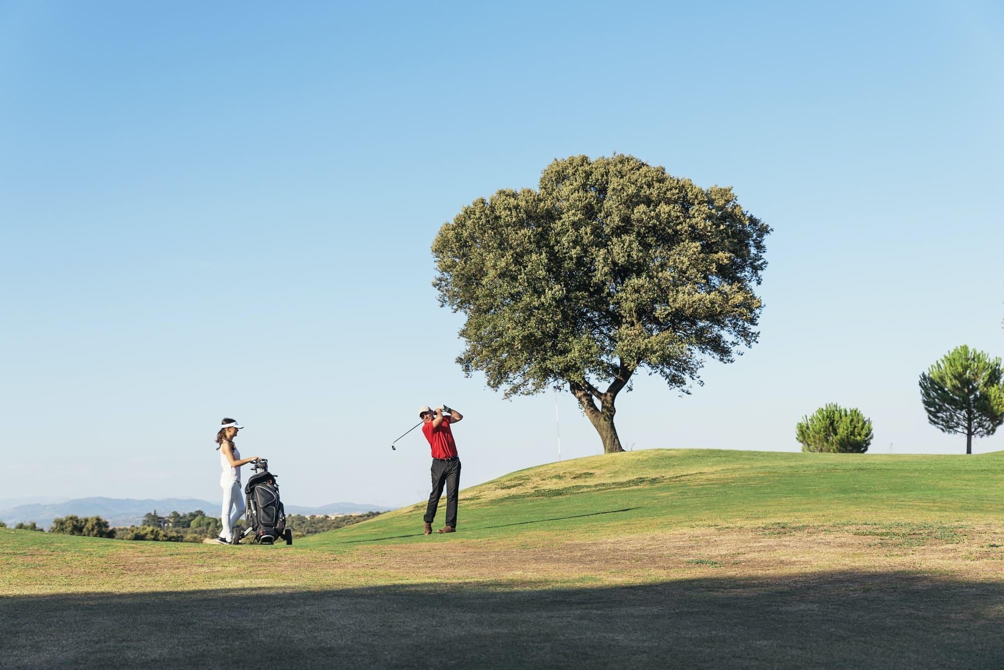 Der Golfsport
