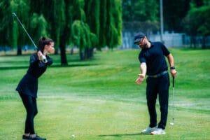 bestes Golf spielen gleich nach dem Golftraining