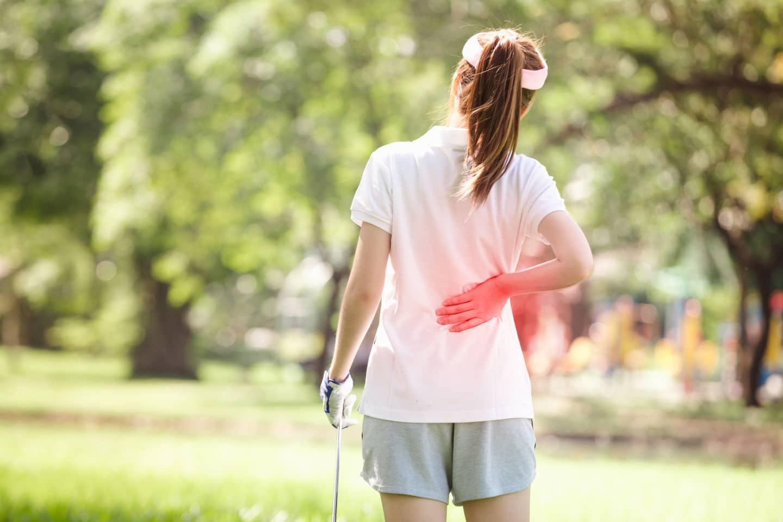Golfverletzungen vorbeugen