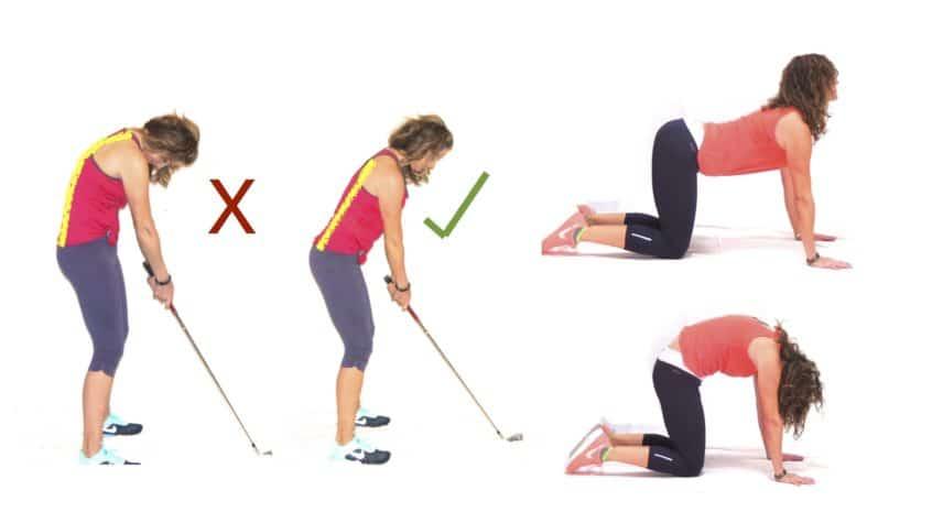 Yoga für Golfer Die wichtigsten Körperbereiche, auf die es ankommt