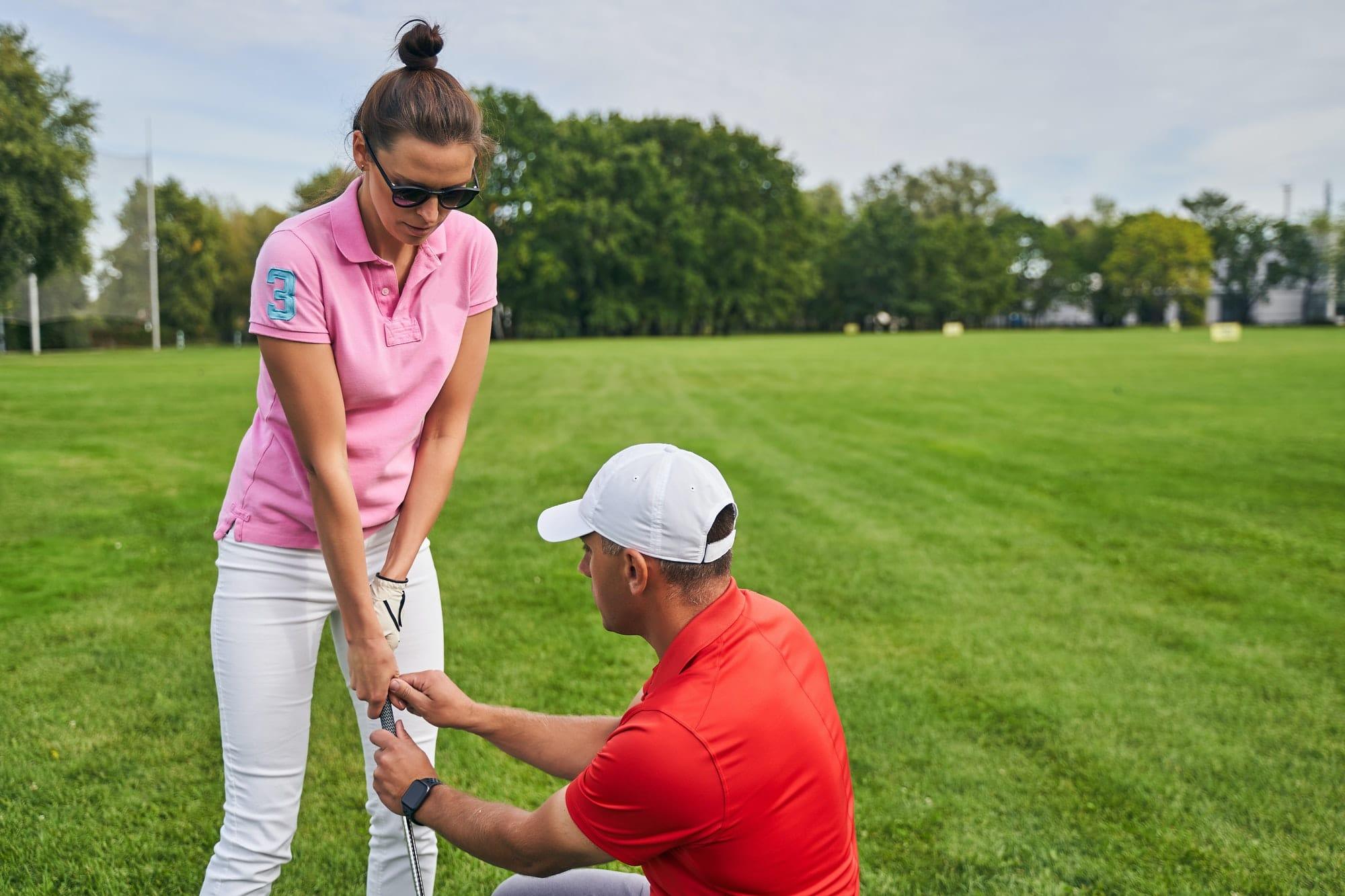 Der richtige Griffdruck beim Golf