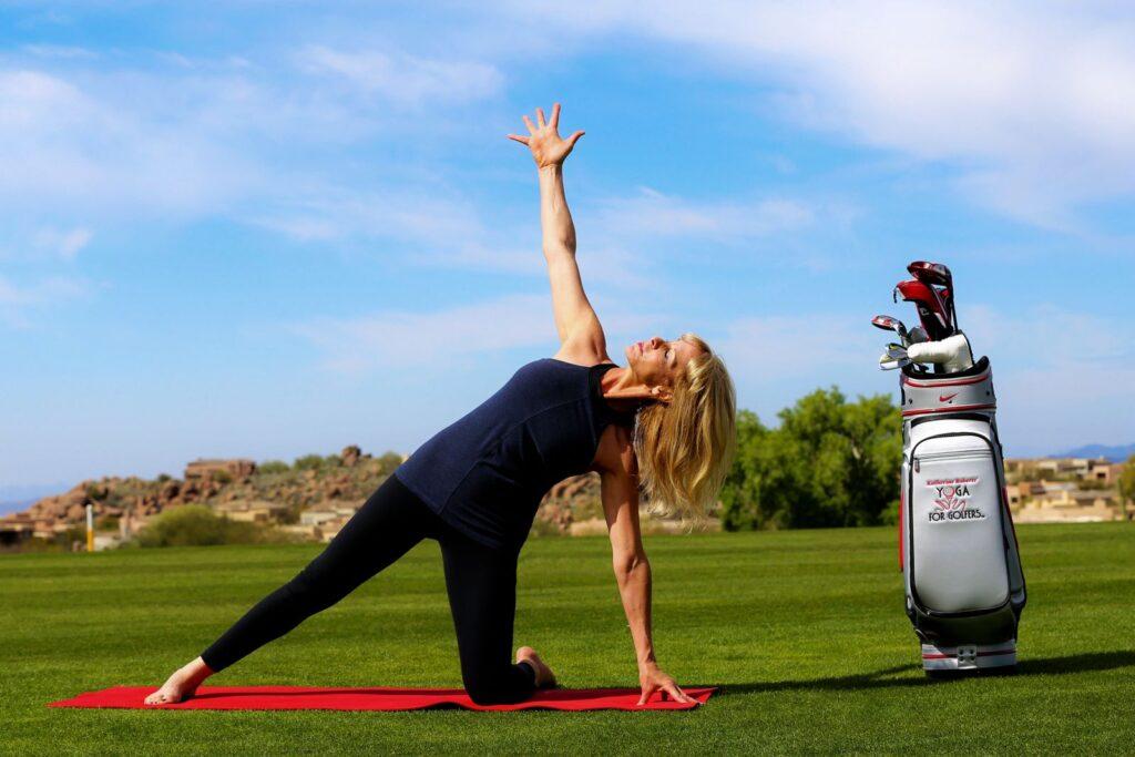 yoga fuer golfer Yoga für Golfer