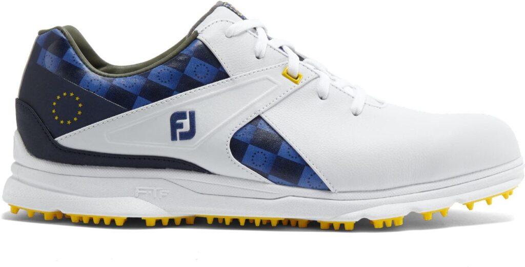 Den besten wasserdichten Golfschuh - FootJoy Pro/SL - gibt es jetzt auch im limitierten  Ryder Cup Design.